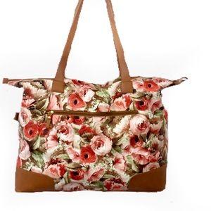 Bueno Floral Rose Travel Bag